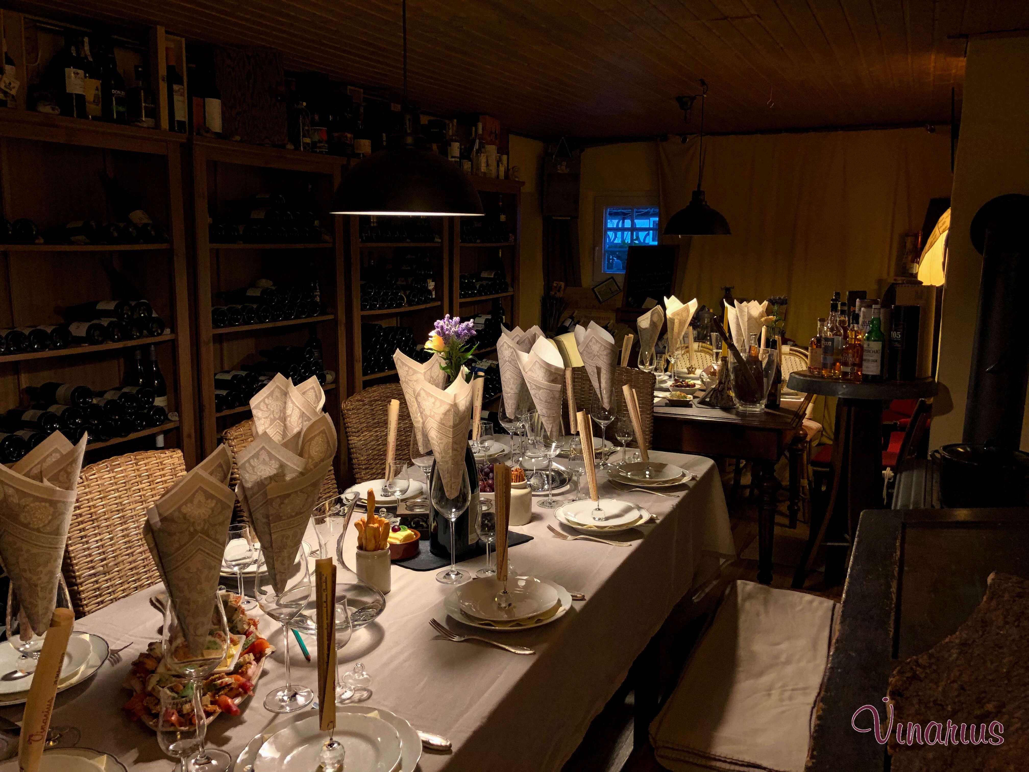 Weinprobe Whiskyprobe Vinarius